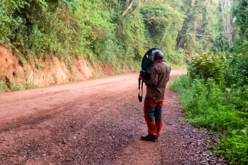 Opptak i Usambara-fjellene, Lushoto, Tanzania; Zoom H5 &Telinga